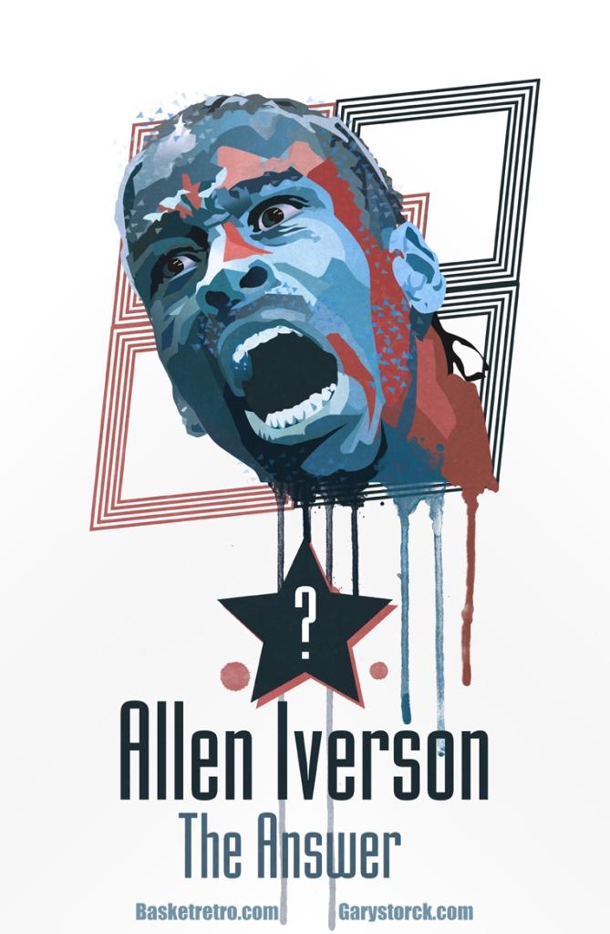 Devant le placard immense qui regorge de sneakers, Allen Iverson est assis. Son esprit est déjà au Staples Center. Ce soir il s'envolera pour L.A jouer sa première finale. Il tient une paire qu'il a sorti du placard. Des chaussures élimées à crampons, de l'époque où il ne savait pas encore quelle carrière embrasser. Foot US ou Basket ? Il a toujours préféré le foot. Sans une sœur au cœur malade et cette proposition de bourse de Georgetown, il n'aurait certainement pas choisi le basket. Il n'aurait pas été premier choix de la Draft 96 ni M.V.P de la saison. Ce soir il partira affronter son destin. Si les Sixers gagnent la bague, cette question lancinante prendra fin.