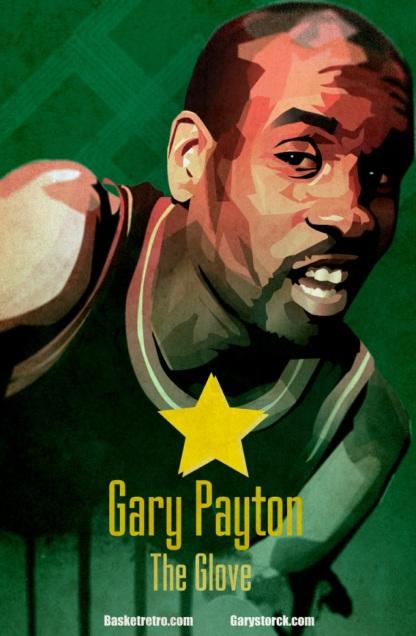 """Le haut en couleur Gary Payton était un superbe joueur reconnu pour ses qualités sportives et rhétoriques. Extraits choisis : My name is (à propos de lui même) : « Ne vous inquiétez pas. Dans quelques années, on dira que Magic Johnson jouait comme un certain Gary Payton. » Punchline et K.O prémonitoire : 1999, le naïf Jamie Feick des Nets veut jouer sur le terrain favori du Glove. Réponse tout en nuance de Payton : « Mec, sérieux, tu seras même plus en NBA l'an prochain… De quoi tu parles ? » Le petit Feick repartira en pleurs et se remémorera certainement cette punchline prémonitoire lorsqu'il apprendra quelques mois plus tard que son contrat est rompu… Les valeurs d'un trash-talker : """"je ne vais jamais trop loin … j'essaye juste de m'immiscer dans l'esprit des adversaires, de focaliser leur attention sur moi"""" … """" je suis parfois accusé, à tort, d'être un trash tallker. [les arbitres et des spectateurs] supposent immédiatement que vous êtes ordurier, outrancier. Mais je pourrais parler à certains de ce qui se passe dans leur famille…"""" Le trash-talker trash-talké : 1992, Payton à Jordan : « Je viens de signer mon contrat, je vais m'acheter une Ferrari comme toi. » Réponse de Jordan : « Toi, tu les achètes. Moi, on me les offre ! » Parole du sage George Karl (coach des SuperSonics de Seattle de 1992 à 1998) : « On a parfois envie de lui rentrer dedans mais il emmerde quand même plus nos adversaires que nous »."""