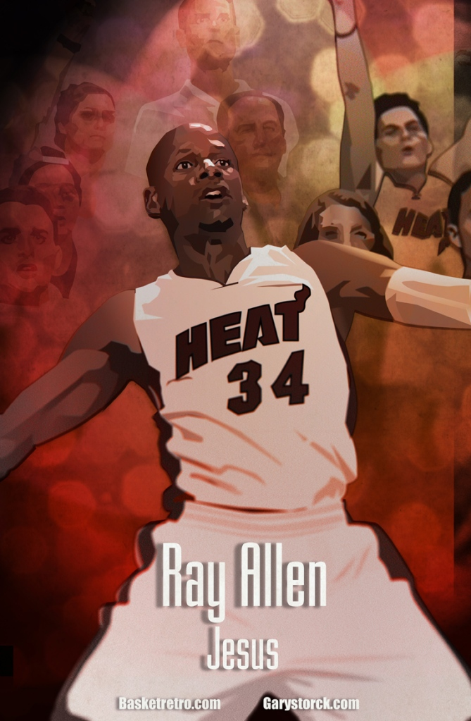 in da paint ray allen the shoot Gary Storck