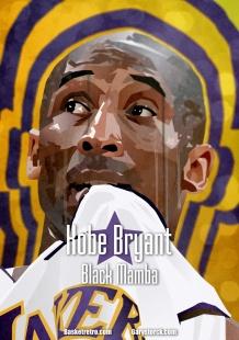 In Da Paint by Gary, Kobe Bryant – The Black Mamba In Da Paint Posted on 14 août 2014 by Gary Storck in In Da Paint // 0 Comments Kobe Bryant, infatigable travailleur, est possédé par l'obsession maladive qui fait les champions. J'ai passé une saison dans le staff des Lakers. Pourtant Bryant reste une énigme pour moi. Comme tout le monde, je cerne son personnage public. Sur le terrain, tout le monde connait le Black Mamba, son jeu, ses moves, son orgueil et sa hargne. Mais qui est-il dans le fond ? Exceptions faites du Fish et de Phil Jackson, qui peut se targuer de le connaître réellement, d'avoir un jour palpées ses douleurs et ses angoisses ? Je me rappelle clairement de la tournée annuelle dans la conférence Est cette année là. Nous dormions à l'hôtel tous les soirs. Après les matchs, le coach demandait à toute l'équipe de se réunir dans le salon pour discuter du match, ou simplement passer du temps ensemble. Le Shaq, toujours enclin à sacrifier son amour propre pour amuser la galerie, Ron Harper exhibant ses nouvelles sneakers. Pourtant, de la semaine, personne n'a croisé KB dans ces parties communes et fédératrices. Sitôt arrivé à l'hôtel il regagnait sa chambre où l'attendaient les montagnes de vidéos qu'il avait demandées. Le Fish nous avait expliqué que les soirs de défaite, Kobe s'enfermait pour revoir le match. Il le disséquait et l'analysait dans les moindres détails, pointait les erreurs collectives, mais surtout ses défaillances personnelles. Entre minuit et deux heures du matin, les insomniaques pouvaient le voir passer, mâchoire serrée et ballon en mains, pour une interminable série de shoot déterminée selon les échecs de la soirée. Il n'était pas rare, en arrivant à la salle d'entrainement le lendemain matin, de le retrouver terminant sa série nocturne. Coach Jackson répétait sans cesse que le jour où Kobe sortirait de sa chambre pour devenir un leader même en dehors du terrain, il deviendrait le meilleur joueur du monde. C'était certainement le seu