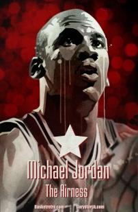 S'il fallait créer l'ultime superstar du Basket, ce serait un joueur aux capacités athlétiques extraordinaires. Un joueur qui dominerait son sport par ses innombrables talents. Il posséderait aussi une éthique de travail infatigable, repoussant sans cesse ses limites pour atteindre la victoire. Ce serait un compétiteur acharné, qui s'imposerait par sa seule volonté. Il posséderait la vision et le talent artistique pour apporter une nouvelle dimension à ce sport. Il serait aussi un meneur d'hommes, capable de galvaniser ses coéquipiers. Il saurait aussi s'élever à la hauteur de la situation, encore et encore. Il serait passionné par le jeu, et cette passion élèverait ses performances au plus haut niveau. Il captiverait les fans par son talent et son charisme. Et à tout moment, il se comporterait avec classe et dignité, devenant l'ambassadeur parfait de son sport. Cela semble presque impossible de trouver toutes ces qualités en un seul joueur. Mais pourtant ce joueur a existé. Michael Jordan, un joueur pour qui rien ne semblait impossible. Un joueur qui était la définition même de l'excellence au basketball. Introduction du documentaire Michael Jordan, joueur du siècle Voilà un documentaire que beaucoup d'entre nous ont vu et revu à l'époque de la VHS. Même le film propagandiste Les Dieux du Stade, commandé à Leni Riefenstahl par Hitler à l'occasion des J.O de Berlin (1936), et qui compare les sportifs nazis à des dieux grecs, paraît subtile en comparaison. Par leur discours et leur réalisation, ces films sont conçus de manière à ce que certains esprits assimilent leurs idées, sans possibilité de remise en question. Est-ce qu'un joueur peut atteindre l'excellence ? Peut-on affirmer que MJ est le joueur du siècle ? Chacun est libre de le penser, le prouver c'est plus compliqué. Lebron ou MJ ? Kobe ou MJ ? Dieu ou MJ ? Certains diront que KB8 a tout pompé sur Jordan. Mais Jordan a t-il tout inventé ? N'y a t-il aucun joueur qui l'ait inspiré ? Ne connaissait il pas Doct