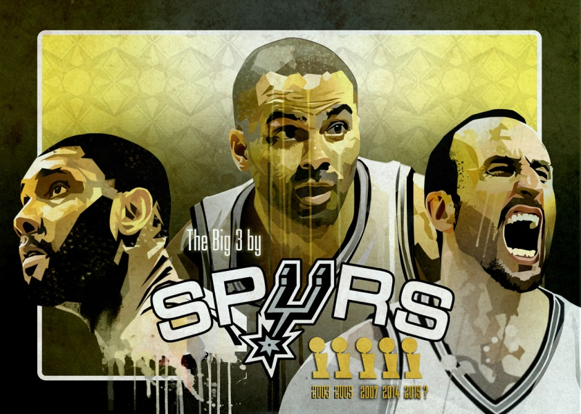 serie spurs big 3 wallpaper gary storck