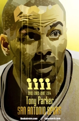 Pour clore en beauté cette semaine Spéciale Spurs, In Da Paint a choisi de rendre hommage au plus grand basketteur français de tous les temps. Le premier à avoir conquis un titre NBA. Pas mal. Invité six fois au All Star Game. OK. Le premier à avoir été sacré MVP des finales. Ça classe son homme ! Bravo à TP, à l'infatigable Big three des Spurs, à tous les role players, avec au premier rang Babac, et bien sûr au général Pop. Vivement l'année prochaine !